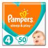 Pampers, Подгузники Sleep & Play 4, 9-14 кг, 50 шт.