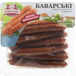 Бащинский, Ковбаски баварські з сиром напівкопчені, в/с, 240 г