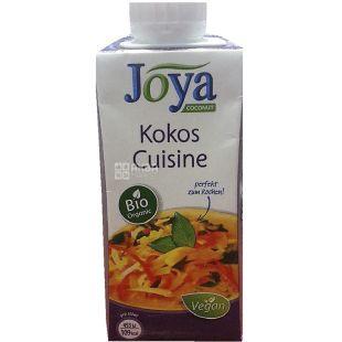 Joya Kokos Cuisine Organic, 200 мл, Джоя, Кокосові вершки, кулінарні, органічні