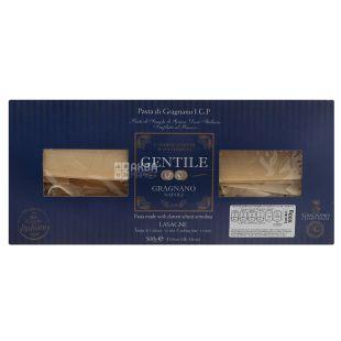 Gentile Lasagne, 500 г, Макарони Джентайл для лазаньї