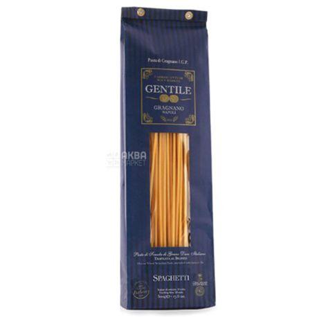 Gentile Spaghetti, 500 г, Макарони Джентайл, Спагеті