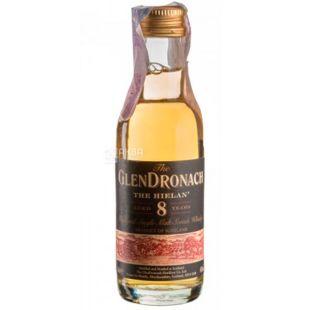 GlenDronach 8yo Hielan, Single Malt Whiskey, 0.05 L