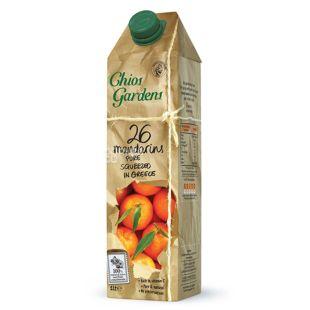 Chios Gardens, 26 Mandarins, 1 л, Хіос Гарденс, Сік мандариновий, прямого віджиму