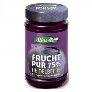 Allos, Organic Blueberry Jam, 250g