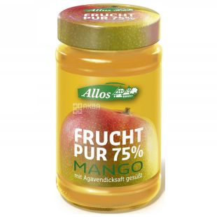 Allos, organic mango jam, 250g
