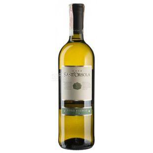 Bianco Dry, Sant'Orsola, Вино белое сухое, 0,75 л