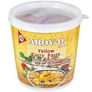 Aroy-D, Паста Карі жовта, 0,4 л