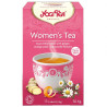 YogiTea, Women's Tea, 17 пак., Чай ЙогиТи, Женский чай, инжир, цедра апельсина и цветки ромашки, органический