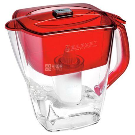 Барьер Гранд Нео, Фильтр для воды, кувшин, рубиновый, 4 л