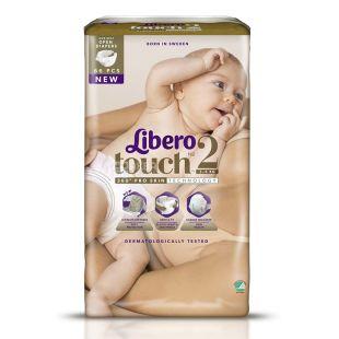 Libero, Підгузки Touch р2, 3-6 кг, 66 шт.