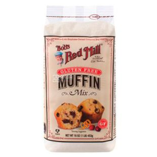 Mixture for baking mofins without gluten 453g, Bob's Red Mill