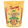 Bob's Red Mill, Flaxseed Meal, 0,453 кг, Борошно Бобс Ред Мілл, з льону, без глютену, органічне
