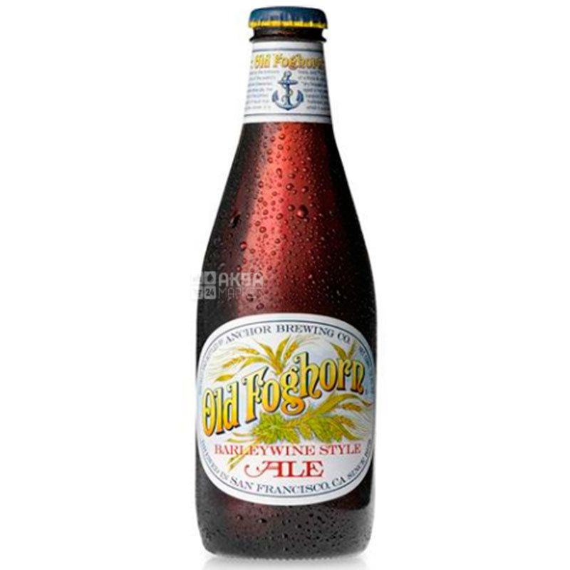 Anchor Old Foghorn, Пиво ячменное, Эль, 0,355 л