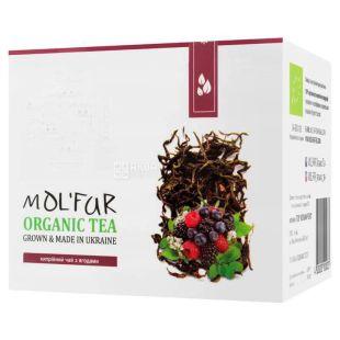 Mol'far, Кипрейный с ягодами, 50 г, Чай Мольфар, малина, черника, брусника, органический