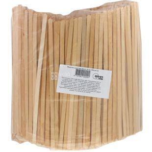 Альфа Пак, Мешалки деревянные, 18 см, 1000 шт.