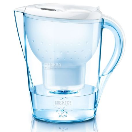 Brita Marella XL, Фильтр-кувшин для воды, белый, 3,5 л