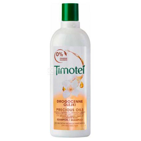 Timotei, Шампунь для всех типов волос, Драгоценные масла, 400 мл