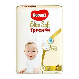 Huggies, Підгузки-трусики Elite Soft Mega 3, 6-11 кг, 54 шт.