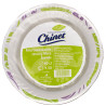 Chinet, Disposable paper plates, 400 ml, 50 pcs.