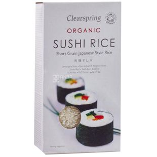 Rice for Sushi Organic 500g, Clearspring