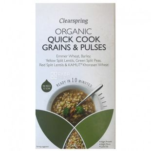 A mixture of grains and legumes of organic preparation 250g, Clearspring