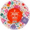Food in Box, 18 см, Тарілки паперові одноразові, 25 шт.