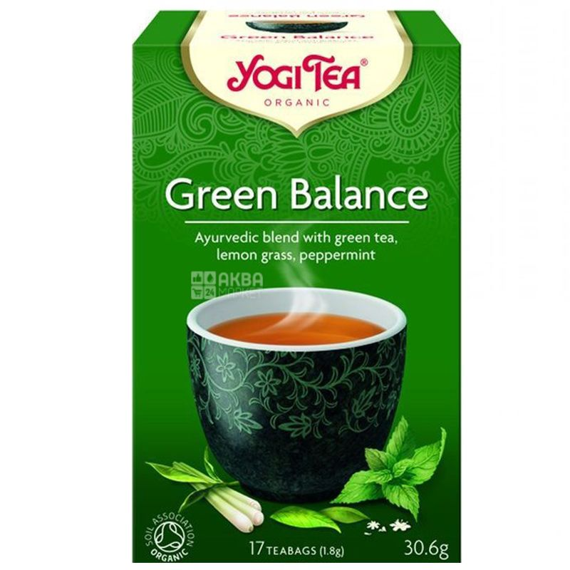 A mixture of herbal and green tea