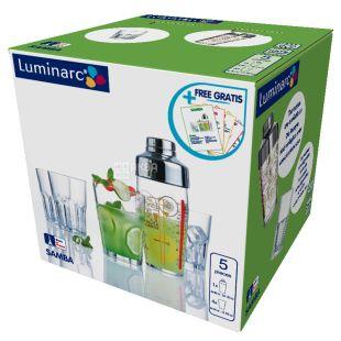 Luminarc, Набор для приготовления коктейля Samba, 5 предметов