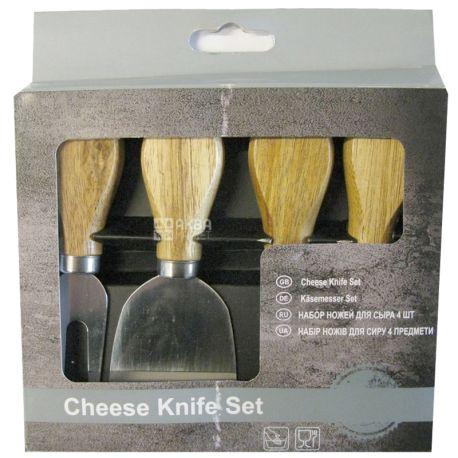 Набір ножів для сиру, 4 шт.