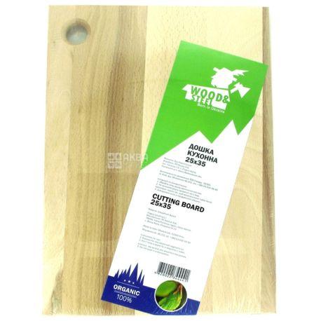 Wood & Steel, Дошка кухонна, Бук, 25х35 см