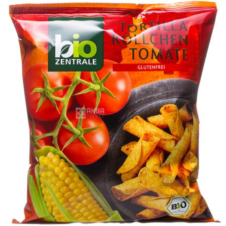 Bio Zentrale, Тортильи с томатами органические, 125 г