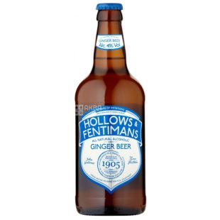 Alcoholic Beverages Ginger Beer 0.500l, Hollows & Fentimans