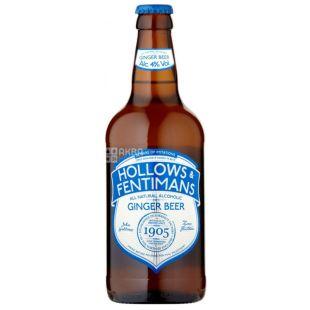 Alcoholic Beverages Ginger Beer 0.500l, Hollows & Fentimans