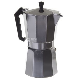 A-Plus, Coffee maker geysernaya, aluminum, 9 cups