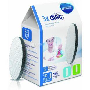 Brita, Картриджі Micro Disc для очищення води, 3 шт.