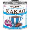 Заречье, Молоко сгущенное с сахаром и какао, 7,5%, 370 г