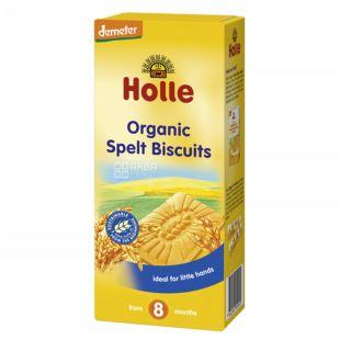 Holle, Печенье спельтове детское, органическое (с 8 месяцев), 150 г