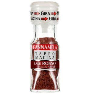 Red Hawaiian Salt in a 60g Mint, Cannamela