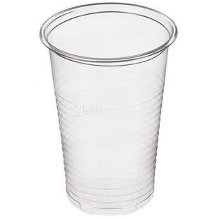 Plast Group, Стакан одноразовый, прозрачный, 200 мл х 100 шт.