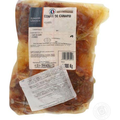 Domaine De Lanvaux, Ніжка качина конфі, пастерезована, 4 шт., 1 кг