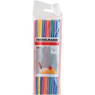 Fackelmann, Straws for cocktails, 24 cm, 30 pcs