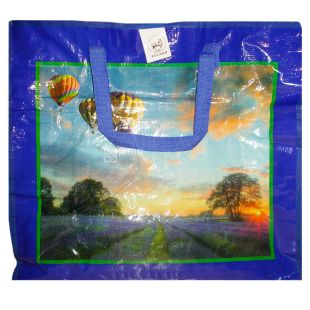 London-Paris Polypropylene shopping bag 50 * 45 * 25 cm