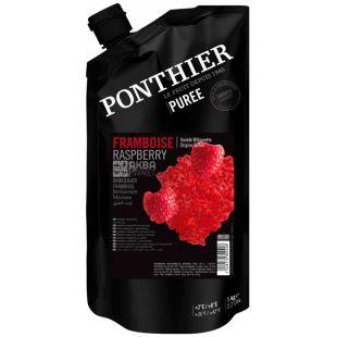 Ponthier, Пюре малина охлажденное, 1 кг