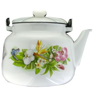 Idilia, Чайник металлический Аванта, эмалированный, 3,5 л