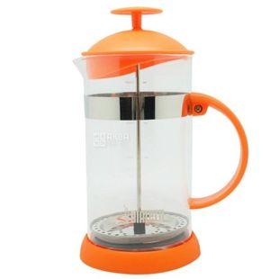 Bialetti, Френч-прес для напоїв Joy, помаранчевий, 1 л
