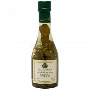 Edmond Fallot, Уксус винный белый с прованскими травами, 250 мл