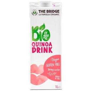 The Bridge, Quinoa Milk, Sugar Free, 1 L