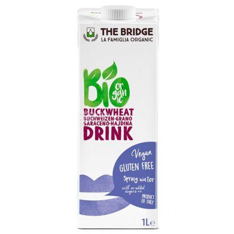 The Bridge, Buckwheat drink, 1 л, Бридж, Гречневое молоко, без сахара и глютена