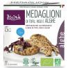 Medallions of tofu, rice and seaweed organic 190g, Biolab