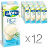 Alpro Rice Original, Alpro Rice Milk, Packaging 12 pcs. 1l each
